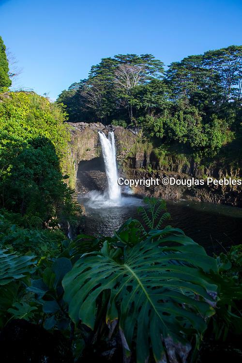 Rainbow Falls, Hilo, Big Island of Hawaii, Hawaii
