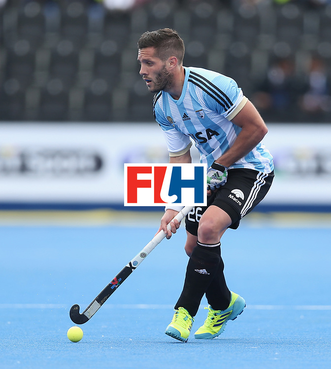 LONDON, ENGLAND - JUNE 15: Agustin Mazzilli of Argentina during the Hero Hockey World League Semi Final match between Korea and Argentina at Lee Valley Hockey and Tennis Centre on June 15, 2017 in London, England.  (Photo by Alex Morton/Getty Images)