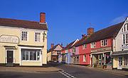 AYBRBF Traditional shops Market Hill Woodbridge Suffolk England