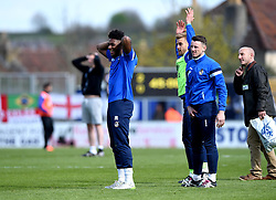 Half Time competition  - Mandatory by-line: Joe Meredith/JMP - 23/04/2016 - FOOTBALL - Memorial Stadium - Bristol, England - Bristol Rovers v Exeter City - Sky Bet League Two
