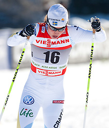 05.01.2011, Nordic Arena, Toblach, ITA, FIS Cross Country, Tour de Ski, Qualifikation Sprint Women and Men, im Bild Anna Haag (SWE, #16). EXPA Pictures © 2011, PhotoCredit: EXPA/ J. Groder