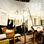 Cultural exhibit of laundry etc at the National Museum of American History at the Smithsonian Institution