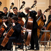 "November 25, 2012 - New York, NY : he New York Youth Symphony performs Antonín Leopold Dvo?ák's 'Symphony No. 9 in E minor, Op. 95, B. 178, 'From the New World' (1893)"" as it kicks off its 50th season, in Carnegie Hall's Isaac Stern Auditorium on Sunday afternoon. CREDIT: Karsten Moran for The New York Times"