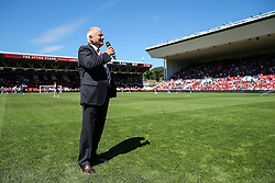 Bristol City majority shareholder Steve Lansdown welcomes fans to the stadium for the first game of the season - Rogan Thomson/JMP - 06/08/2016 - FOOTBALL - Ashton Gate Stadium - Bristol, England - Bristol City v Wigan Athletic - Sky Bet EFL Championship.