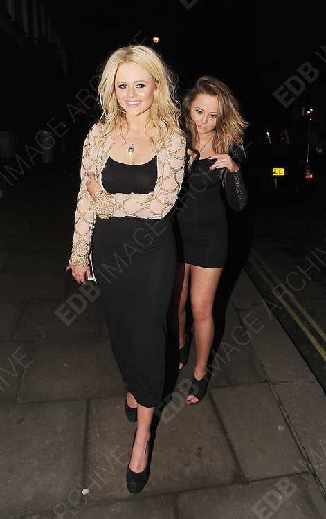 01.FEBRUARY.2011. LONDON<br /> <br /> EMILY ATACK ATTENDING THE DANCING ON ICE PARTY AT BUNGALOW 8 IN CENTRAL LONDON<br /> <br /> BYLINE: EDBIMAGEARCHIVE.COM<br /> <br /> *THIS IMAGE IS STRICTLY FOR UK NEWSPAPERS AND MAGAZINES ONLY*<br /> *FOR WORLD WIDE SALES AND WEB USE PLEASE CONTACT EDBIMAGEARCHIVE - 0208 954 5968*
