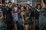 Shibuya, Tokyo has become ground zero for celebrating Halloween in Japan, which has exploded in the past few years.