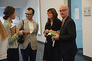 VADIM GRIGORIAN; ULRIKA LOVDAHL; TERRY HARDING, Breakfast and introduction to Documenta (13), at Ständehaus<br /> Venue: Standehaus, Absolut Maybe bar area, Documenta ( 13 ), Kassel, Germany. 14 September 2012.