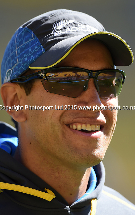 Ross Taylor during the ICC Cricket World Cup quarter final match between New Zealand Black Caps and the West Indies, Wellington, New Zealand. Saturday 21March 2015. Copyright Photo: Andrew Cornaga / www.Photosport.co.nz