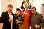 MISS JULIA; DANIEL LISMORE; STEVE STRANGE, 30 Years Of i-D - book launch. Q Book 5-8 Lower John Street, London . 4 November 2010. -DO NOT ARCHIVE-© Copyright Photograph by Dafydd Jones. 248 Clapham Rd. London SW9 0PZ. Tel 0207 820 0771. www.dafjones.com.