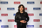 Laura Hamady of Chronicle Security poses for a photo during the Bay Area Corporate Counsel Awards at The Westin San Francisco Airport in Millbrae, California, on March 18, 2019. (Stan Olszewski for Silicon Valley Business Journal)