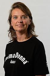 29-10-2014 NED: Selectie Prima Donna Kaas Huizen vrouwen, Huizen<br /> Selectie seizoen 2014-2015 / Manager Inez Wolters- VD Weij