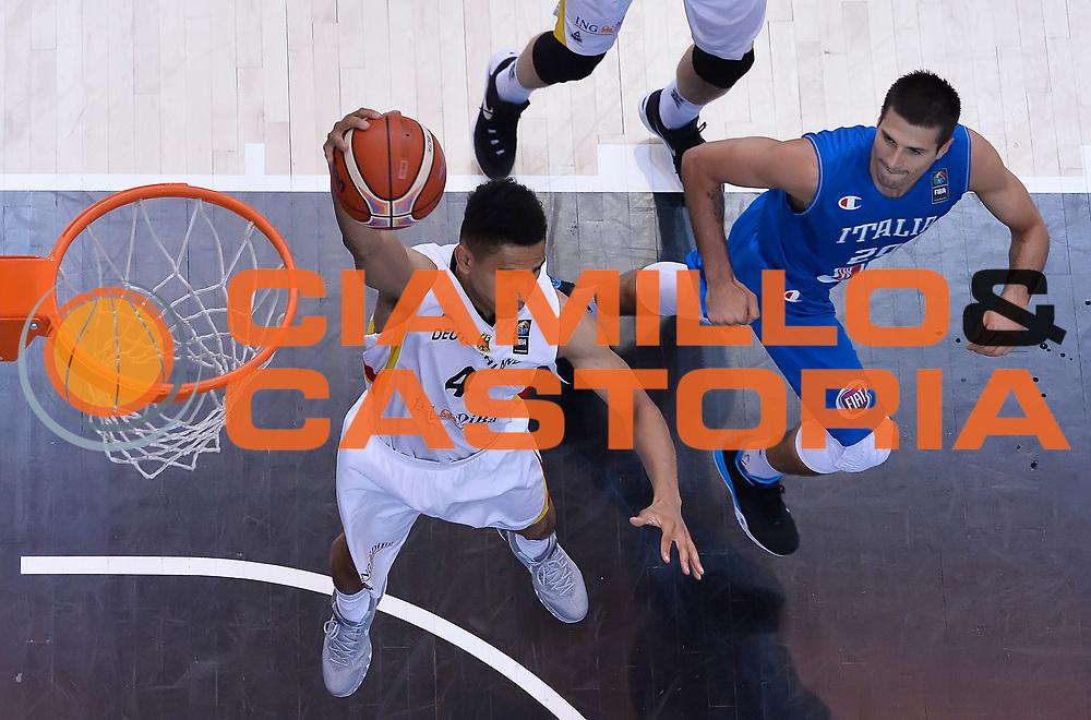 DESCRIZIONE : Trento Nazionale Italia Uomini Trentino Basket Cup Italia Germania Italy Germany <br /> GIOCATORE : <br /> CATEGORIA : rimbalzo special<br /> SQUADRA : Germania Germany<br /> EVENTO : Trentino Basket Cup<br /> GARA : Italia Germania Italy Germany<br /> DATA : 01/08/2015<br /> SPORT : Pallacanestro<br /> AUTORE : Agenzia Ciamillo-Castoria/R.Morgano<br /> Galleria : FIP Nazionali 2015<br /> Fotonotizia : Trento Nazionale Italia Uomini Trentino Basket Cup Italia Germania Italy Germany