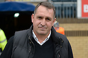 Barnet FC manager Martin Allen during the Sky Bet League 2 match between Wycombe Wanderers and Barnet at Adams Park, High Wycombe, England on 16 April 2016. Photo by Dennis Goodwin.