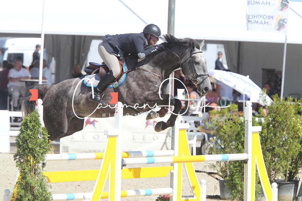 De Laet Caroline (BEL) - Comtesse vt Ertsenhof Z<br /> Belgisch kampioenschap jonge springpaarden Gesves 2012<br /> &copy; Hippo Foto - Counet Julien