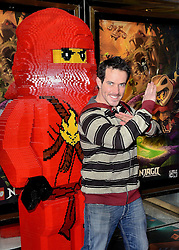 Dominic Wood attends the Lego Ninjago:  Masters Of Spinjitzu UK TV premiere at The Empire Cinema, Leicester Square, on Saturday 7 February 2015