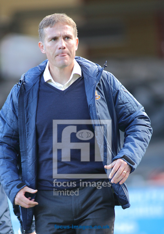 Phil Parkinson (Manager) of Bradford City during the Sky Bet League 1 match at the Coral Windows Stadium, Bradford<br /> Picture by Stephen Gaunt/Focus Images Ltd +447904 833202<br /> 01/11/2014
