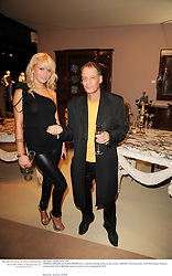 VANESSA WALKER and ALAN ENDFIELD at a preview evening of the annual London LAPADA (The Association of Art & Antiques Dealers) antiques Fair held in Berkeley Square, London on 21st September 2010. *** Local Caption *** Image free to use for 1 year from image capture date as long as image is used in context with story the image was taken.  If in doubt contact us - info@donfeatures.com<br /> VANESSA WALKER and ALAN ENDFIELD at a preview evening of the annual London LAPADA (The Association of Art & Antiques Dealers) antiques Fair held in Berkeley Square, London on 21st September 2010.