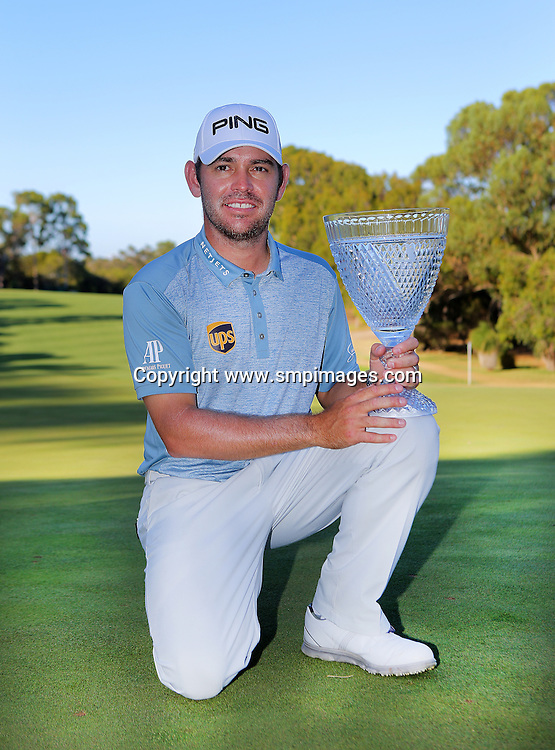 LOUIS OOSTHUIZEN - Action from the 2016 ISPS Handa Perth International at Lake Karrinyup Country Club, Perth, Western Australia.<br /> Photo: SMP Images / IMG Media / PGA Media