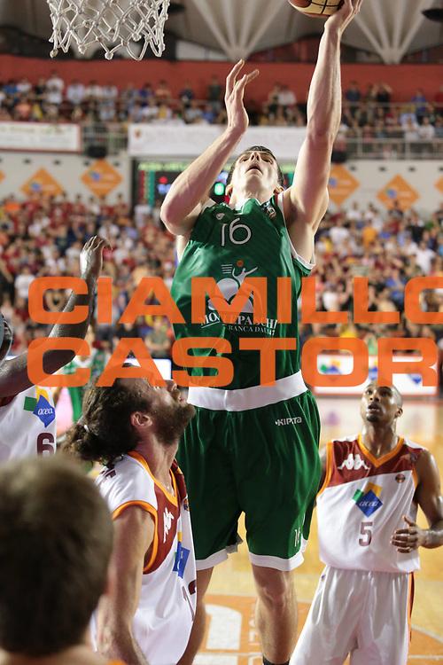 DESCRIZIONE : Roma Lega A 2012-2013 Acea Roma Montepaschi Siena finale gara 1<br /> GIOCATORE : Ortner Benjamin<br /> CATEGORIA : tiro<br /> SQUADRA : Montepaschi Siena<br /> EVENTO : Campionato Lega A 2012-2013 playoff finale gara 1<br /> GARA : Acea Roma Montepaschi Siena<br /> DATA : 11/06/2013<br /> SPORT : Pallacanestro <br /> AUTORE : Agenzia Ciamillo-Castoria/M.Simoni<br /> Galleria : Lega Basket A 2012-2013  <br /> Fotonotizia : Roma Lega A 2012-2013 Acea Roma Montepaschi Siena playoff finale gara 1<br /> Predefinita :