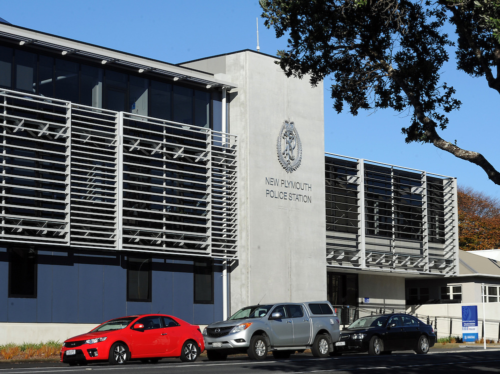 New Plymouth Police Station, New Plymouth, New Zealand, Sunday, June 01, 2014. Credit:SNPA / Ross Setford