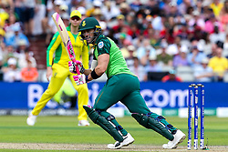 Faf du Plessis of South Africa - Mandatory by-line: Robbie Stephenson/JMP - 06/07/2019 - CRICKET - Old Trafford - Manchester, England - Australia v South Africa - ICC Cricket World Cup 2019 - Group Stage