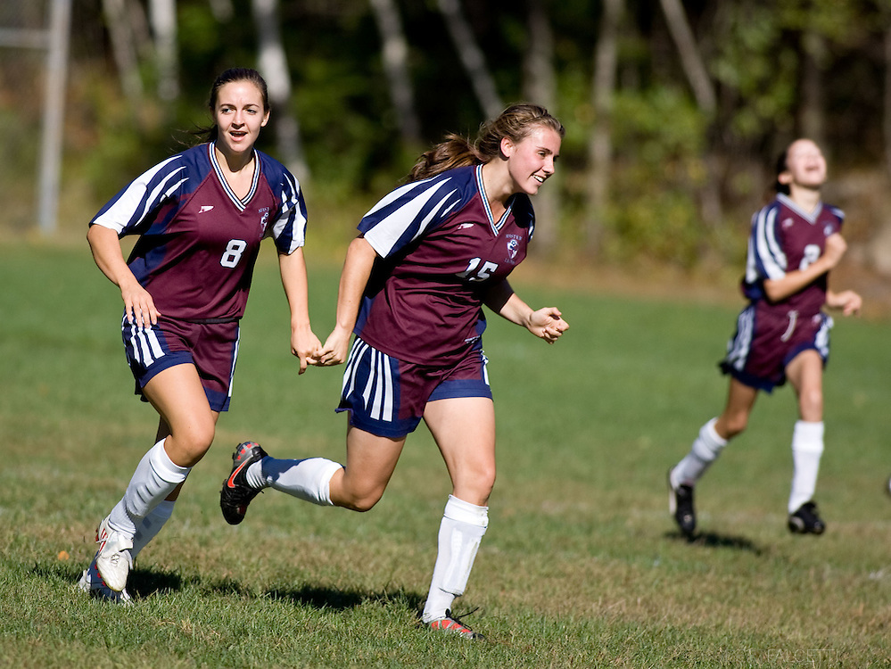 The Master's School, West Simsbury, CT. 2010-2011. Girl's Varsity Soccer.  (Photo by Robert Falcetti). .
