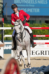 Philippaerts Olivier (BEL) - Cabrio vd Heffinck<br /> Final First Competition<br /> Furusiyya FEI Nations Cup™ Final - Barcelona 2014<br /> © Dirk Caremans
