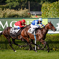 Ajmal (PC. Boudot) wins Prix De Beausejour in Saint-Cloud, 14/07/2017, photo: Zuzanna Lupa / Racingfotos.com