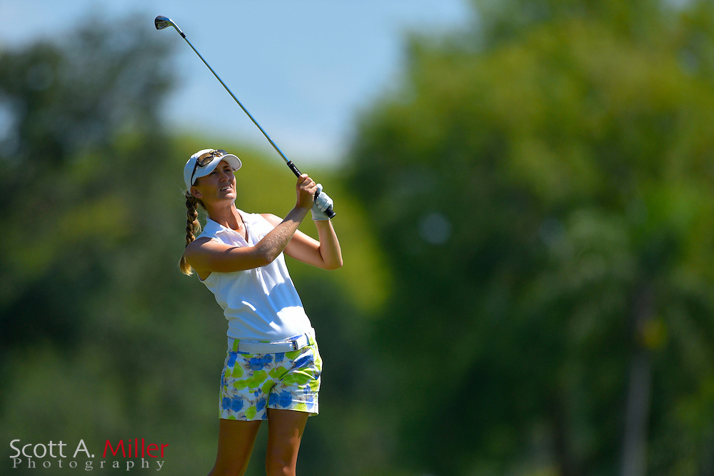 Megan McChrystal during the final round of the Chico's Patty Berg Memorial on April 19, 2015 in Fort Myers, Florida. The tournament feature golfers from both the Symetra and Legends Tours.<br /> <br /> &copy;2015 Scott A. Miller