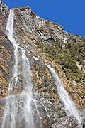Earland Falls, Routeburn Track, Fiordland, New Zealand