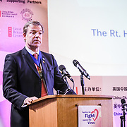 Speaker Alderman William Russell at China-UK United We Stand together to fights the #Covid19 at Guildhall, on 28th February 2020, London, UK.