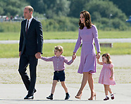 Cambridges Depart Germany
