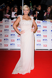 Kerry Katona at the National Television Awards held in London on Wednesday, 25th January 2012. Photo by: i-Images