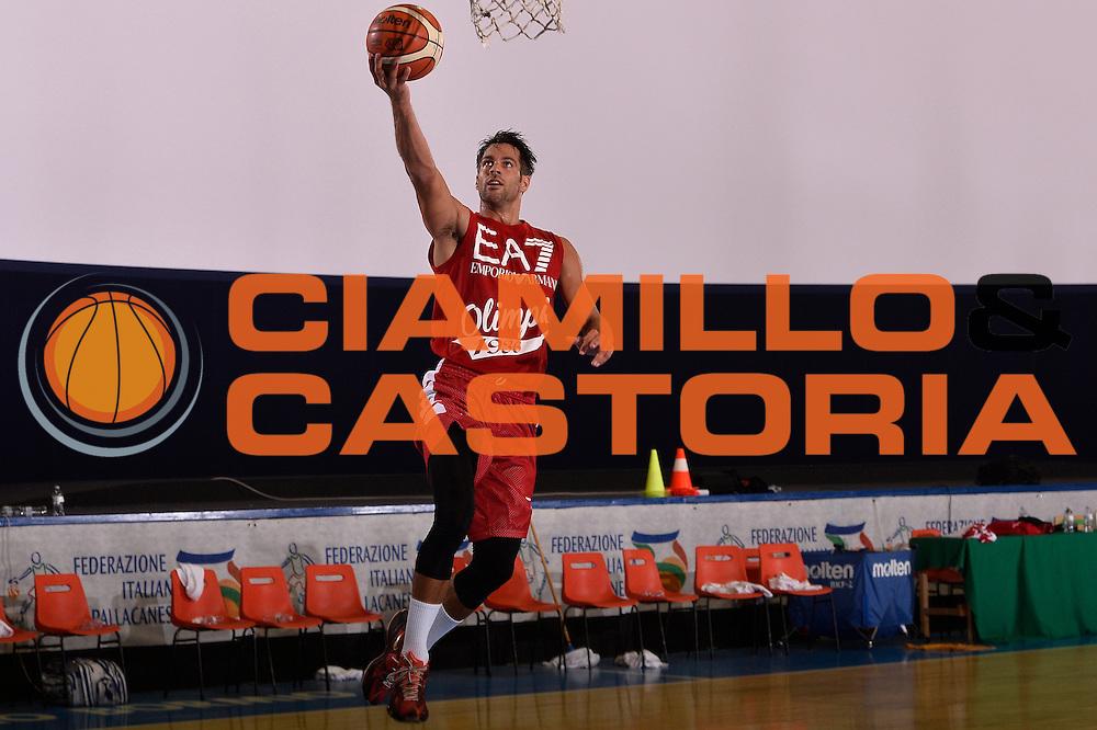 Bruno Cerella <br /> EA7 Emporio Armani Olimpia Milano allenamento<br /> Lega Basket Serie A 2016/2017<br /> Bormio 25/08/2016<br /> Foto Ciamillo-Castoria