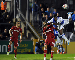 Ellis Harrison - Mandatory by-line: Neil Brookman/JMP - 11/08/2016 - FOOTBALL - Memorial Stadium - Bristol, England - Bristol Rovers v Cardiff City - EFL League Cup
