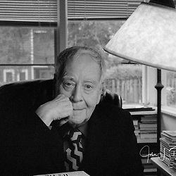 Horton Foote at his home in Wharton, Texas 2001