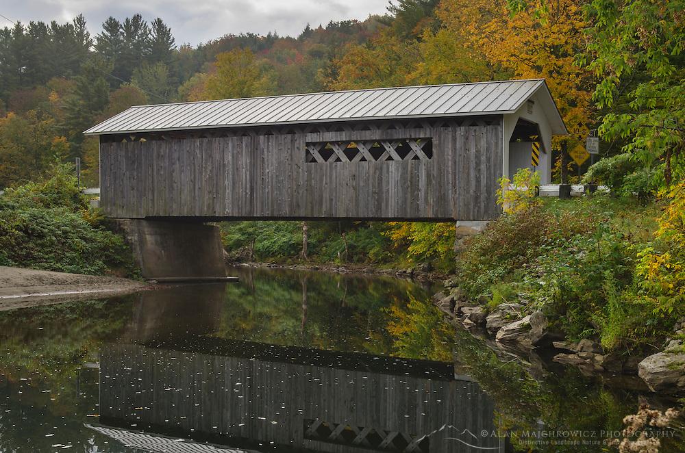 Comstock covered bridge, Montgomery, Vermont