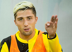 Kevin Kampl of Borussia Dortmund prior to the football match between WAC Wolfsberg (AUT) and  Borussia Dortmund (GER) in First leg of Third qualifying round of UEFA Europa League 2015/16, on July 30, 2015 in Wörthersee Stadion, Klagenfurt, Austria. Photo by Vid Ponikvar / Sportida