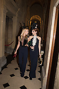 KATHERINE HOLMGREN; ARIANE LOVELACE, Ball at to celebrateBlanche Howard's 21st and  George Howard's 30th  birthday. Dress code: Black Tie with a touch of Surrealism. Castle Howard. Yorkshire. 14 November 2015