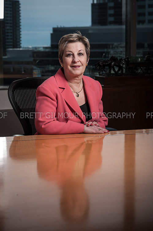 Portraits of Ginny Bannerman of Intact Insurance  by Calgary Corporate Photographer Brett Gilmour