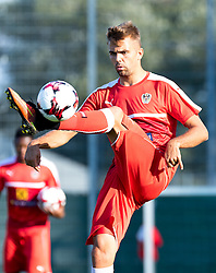 30.08.2016, Ernst Happel Stadion, Wien, AUT, FIFA WM Qualifikation, Georgien vs Oesterreich, Gruppe D, Training Oesterreich, im Bild  Lukas Hinterseer// during a training session of Team Austria (AUT) in front of the FIFA World Cup Qualifier Match between Georgia and Austria at the Ernst Happel Stadion, Vienna, Austria on 2016/08/30. EXPA Pictures © 2016, PhotoCredit: EXPA/ Sebastian Pucher