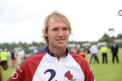 MARK TOMLINSON at the Audi International Polo at Guards Polo Windsor Great Park, Egham, Surrey on 28th July 2013.