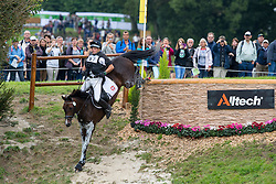 Jacek Jeruzal, (POl), Flandia 2 - Eventing Cross Country test - Alltech FEI World Equestrian Games™ 2014 - Normandy, France.<br /> © Hippo Foto Team - Leanjo de Koster<br /> 30/08/14