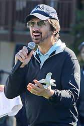 """Feb 6, 2019 Pebble Beach, Ca. USA TV, Film and singing stars that included RAY ROMANO whom played in the """"3M Celebrity Challenge"""" to try for part of the 100K purse to go to their favorite charity and win the Estwood-Murray cup, for which team Clint Eastwwod's group won.. The event took place during practice day of the PGA AT&T National Pro-Am golf on the Pebble Beach Golf Links. Photo by Dane Andrew c. 2019 contact: 408 744-9017  TenPressMedia@gmail.com"""