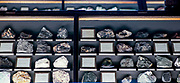 sorted Mineral collection Photographed at the Natural History Museum, Vienna, Austria