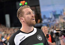 11.03.2016, Leipzig, GER, Handball Länderspiel, Deutschland vs Katar, Herren, im Bild GER Teammanager Oliver Roggisch // during the men's Handball international Friendlies between Germany and Qatar in Leipzig, Germany on 2016/03/11. EXPA Pictures © 2016, PhotoCredit: EXPA/ Eibner-Pressefoto/ Modla<br /> <br /> *****ATTENTION - OUT of GER*****