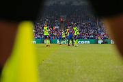 A general view of the action during the Premier League match between Crystal Palace and Huddersfield Town at Selhurst Park, London, England on 30 March 2019.
