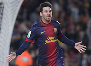 Barcelona versus Athletico Madrid 16.12.12