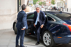Philip Hammond Chancellor of the Exchequer and the Member of Parliament for Runnymede and Weybridge arrives at the BBC before appearing on the Andrew Marr show as a guest.<br /> <br /> Richard Hancox | EEm 21072019