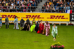 Opening ceremony, Haute Couture<br /> CHIO Aachen 2019<br /> Weltfest des Pferdesports<br /> © Hippo Foto - Dirk Caremans<br /> Opening ceremony, Haute Couture
